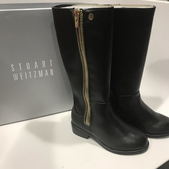 get new promo code arrives Stuart Weitzman toddler lowland zippy T Boots NWT